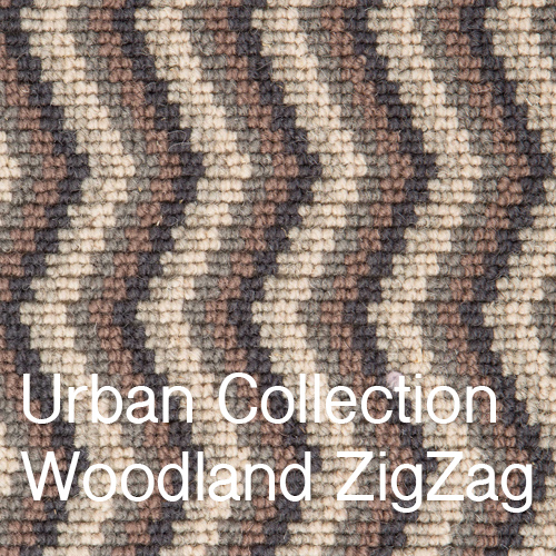 Urban Collection Woodland ZigZag